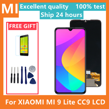 6.39 inch MiCC9 LCD For Xiaomi Mi 9 lite LCD Display Touch Screen Digitizer Assembly Parts For Xiaomi Mi CC9 Lcd