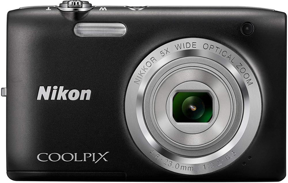 USED Nikon Coolpix S2800 CCD Point and Shoot Digital Camera with 5X Optical Zoom