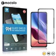 Mocolo Oleophobic 2.5D 9H Volledige Cover Gehard Glas Film Op Voor Xiaomi Pocophone Poco F3 Pro PocoF3 F 3 128/256 Gb Beschermende