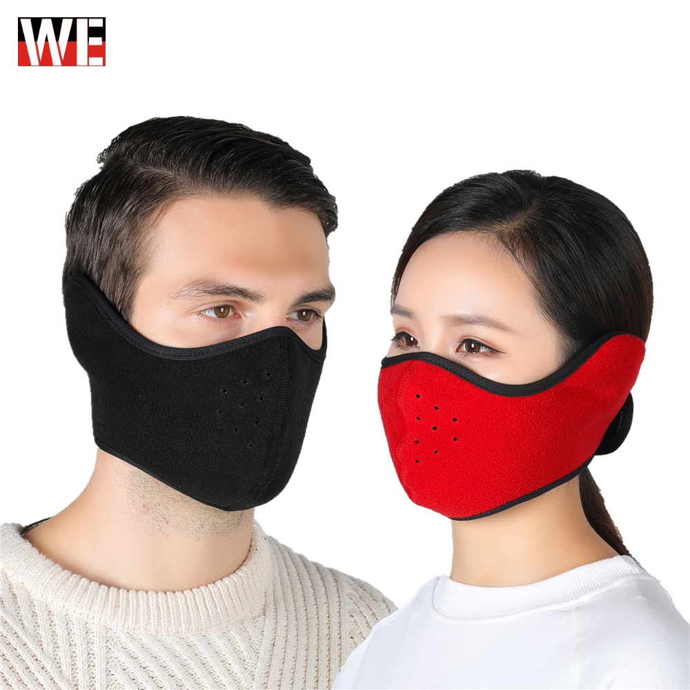 WOSAWE Motorcycle Full Face Mask Fleece Thermal Winter Army Tactical Mask Ski Mask Cap Balaclava Hood Motorbike Helmet Keep Warm