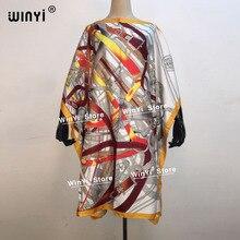 Woman Dress African-Robe Length Fashion 100cm Boho Print -Printed