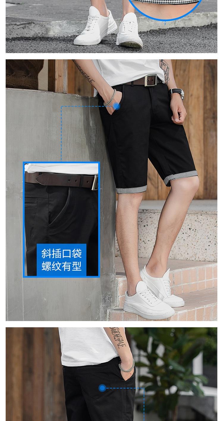 calças curtas marca de roupas cargo plus size masculino masculino