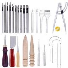 Kaobuy набор инструментов для кожевенного ремесла с перфорацией