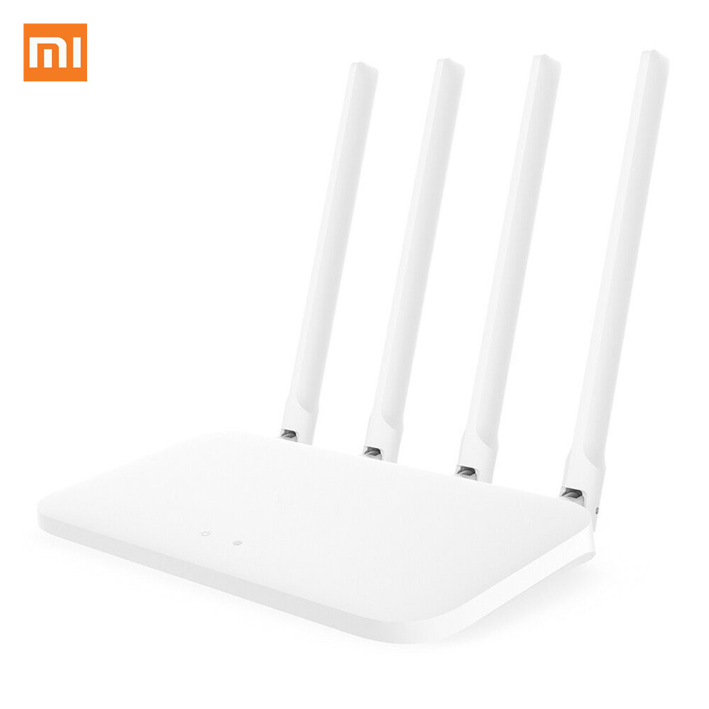 Global version Xiaomi Mi 4A Router Gigabit edition 2.4GHz +5GHz <font><b>WiFi</b></font> 16MB ROM + 128MB DDR3 High Gain 4 Antenna APP Control IPv6 image