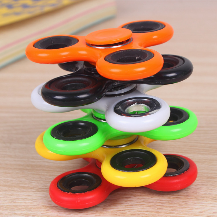 Fidget Spinner Toys Autism ADHD Anti-Stress Adult ABS for High-Quality Kids Funny img2