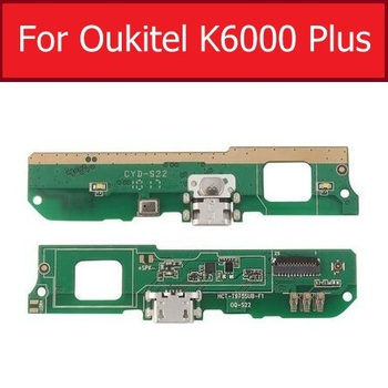 Usb Charger Prot Plug Board Module For Oukitel K6000 Plus Charging Jack Dock Board Replacement Parts For Oukitel K6000 Plus