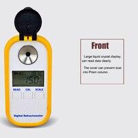 Цифровой рефрактометр для мёда, измерительный прибор для измерения содержания сахара, медовый рефрактометр