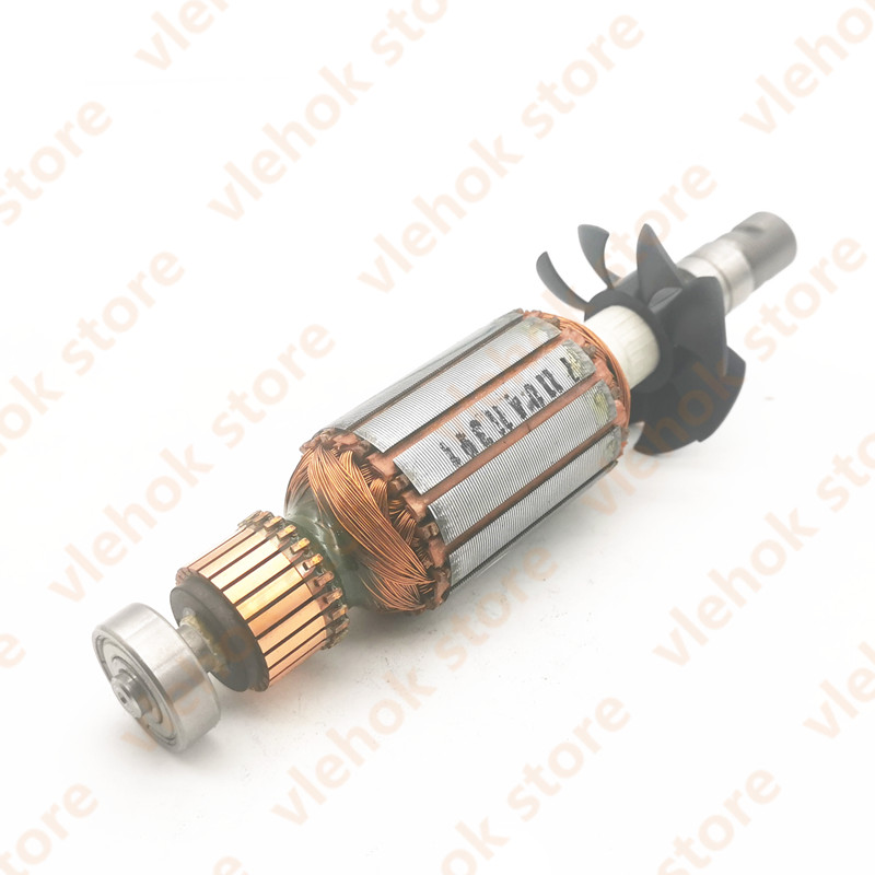 220V-240V Armature Rotor For BOSCH GKF600 GMR1 2609120168 Power Tool Accessories Electric Tools Part