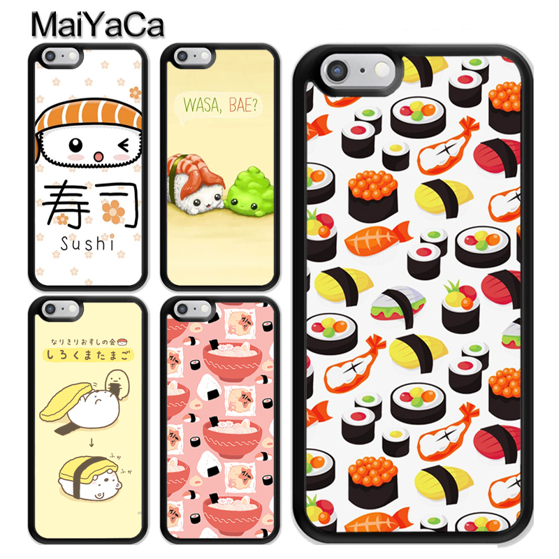 Cute Sushi Maki Rice Kitchen Food Coque For iPhone 11 Pro MAX X XR XS MAX