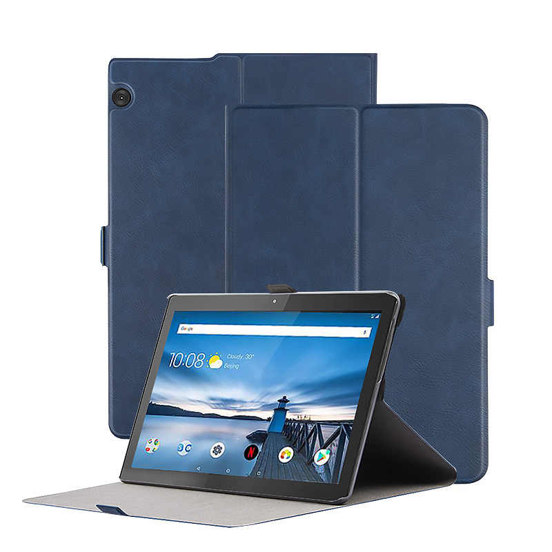 Flip Stand Case Voor Lenovo Tab M10 TB-X605F TB-X605L Case Pu Leather Cover Voor Lenovo M10 10.1 Tablet Capa