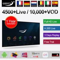 IPTV France Belgium Code QHDTV Plus IPTV Subscription Global Live for Android M3U MAG Enigma2 device IPTV Sweden French Turkey