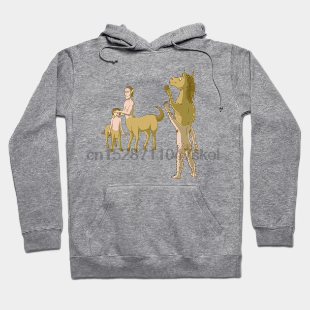 Nobody Likes Reverse Centaur By Cart00nlion Streetwear Men Women Hoodies Sweatshirts