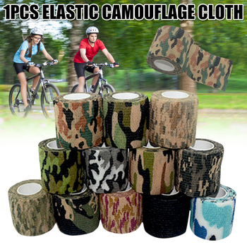 Self-adhesive Bandage Nonwovens Tattoo Camo Outdoor Hunting Camping Camouflage Stealth Tape Waterproof Wraps YS-BUY image