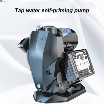 Frequency conversion automatic pressure regulating pump home self-priming water well pump frequency conversion water pressure booster pump for home shower stainless steel mute fully automatic 220v self priming pump