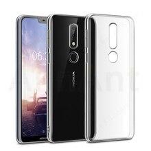 Мягкий чехол для телефона для Nokia 1 2 2,1 2,2 3 3,1 3,2 5 5,1 6 6,1 7 7,1 8 8,1 9X3X5X6X7 Plus прозрачный чехол из термополиуретана и силикона чехол s крышка