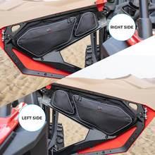 KEMIMOTO 2020 2021 для Polaris RZR PRO XP UTV дверные сумки 1680D Боковая Сумка для хранения наколенники сиденье для водителя пассажира черный