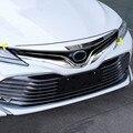 WELKINRY Für Toyota Camry XV70 2018 2019 2020 Daihatsu Altis ABS chrom vorne kopf gesicht haube motorhaube lufteinlass vent grille trim