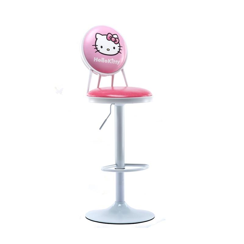 Bar Stools Modern Chair Lift Front Back Retro Cash Register High Wrought Iron Sillas Banqueta Cadeira Poltrona Taburete