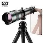 APEXEL Opzionale HD 60X metallo telescopio teleobiettivo monoculare lente mobile + allungabile treppiede per iPhone Huawei tutti Gli Smartphone