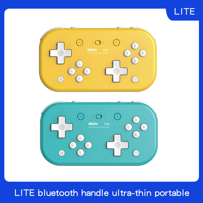 8bitdo Lite Bluetooth game handle switch computer steam ultra thin portable ns Tetris 2D game joystick image