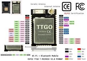 Image 3 - Ttgo Micro 32 V2.0 Wifi Draadloze Bluetooth Module ESP32 PICO D4 Ipex ESP 32 Voor 5 Stuk (10 Stuk) = 1Set