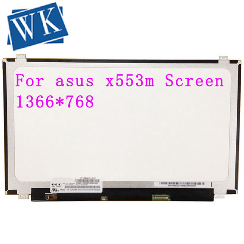 For Asus X553m Screen Display  Matrix For Laptop 15.6 HD 1366*768 LED Panel Replacement  40PINS