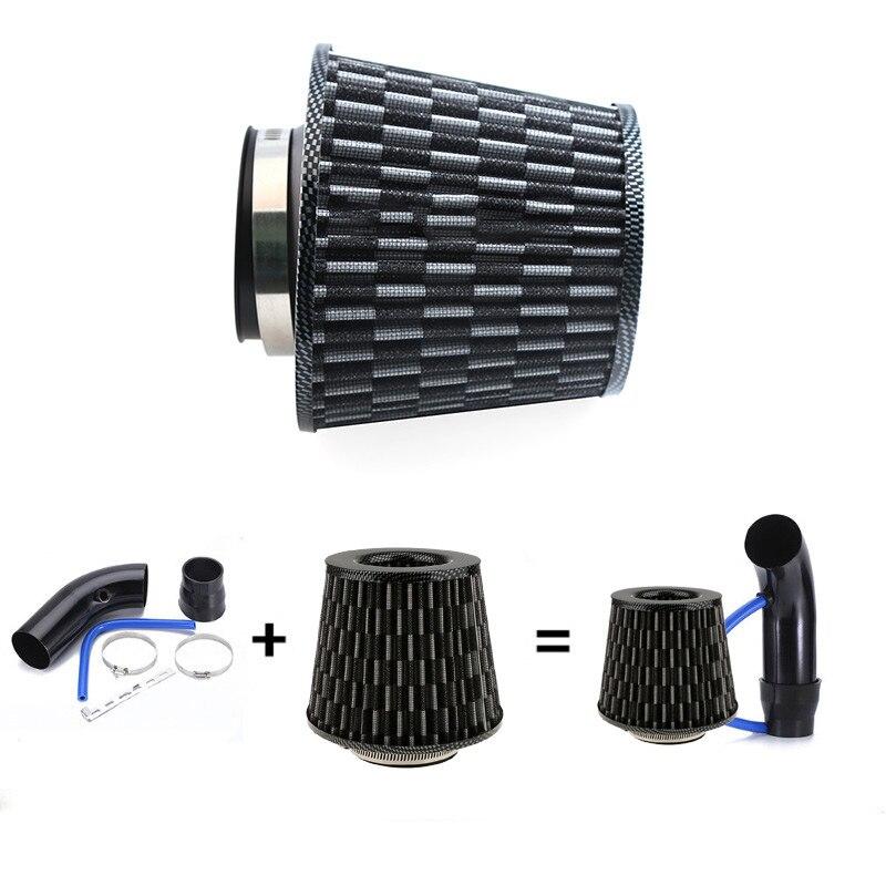 Samochodowe filtry powietrza wydajność wysoki przepływ zimny filtr wlotowy zestaw indukcyjny Sport Power Mesh Cone uniwersalna struktura naukowa