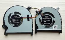 Novo ventilador de refrigeração cpu + gpu para dell insprion 15-7590 7591 p83f 0 mphwf 0861fc dfs5k22115371d dfs5k12114262d