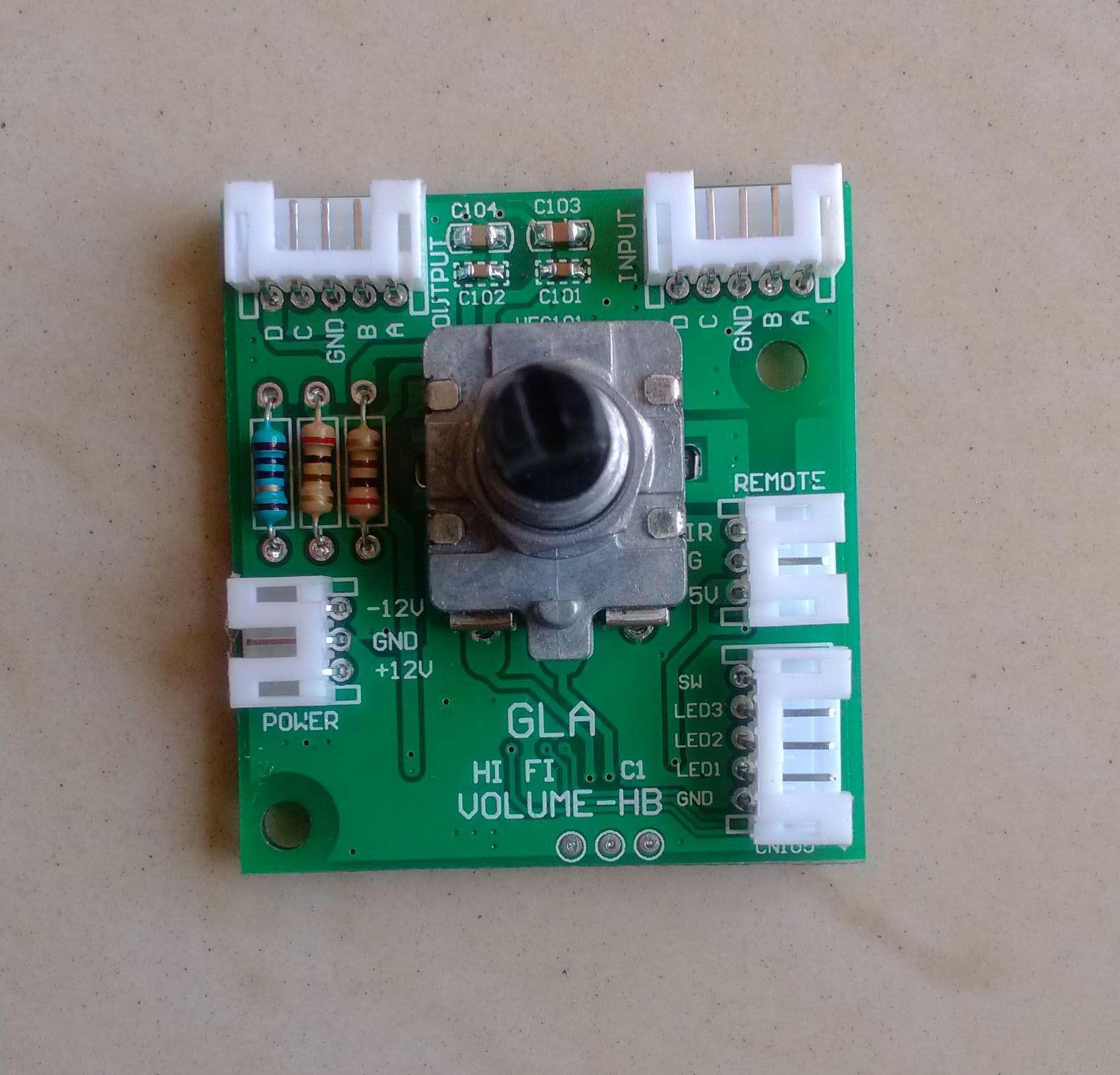 Hi-Fi 4-канальный/8-канальный объем Управление Панель дистанционного потенциометр баланс потенциометр (отображаемые