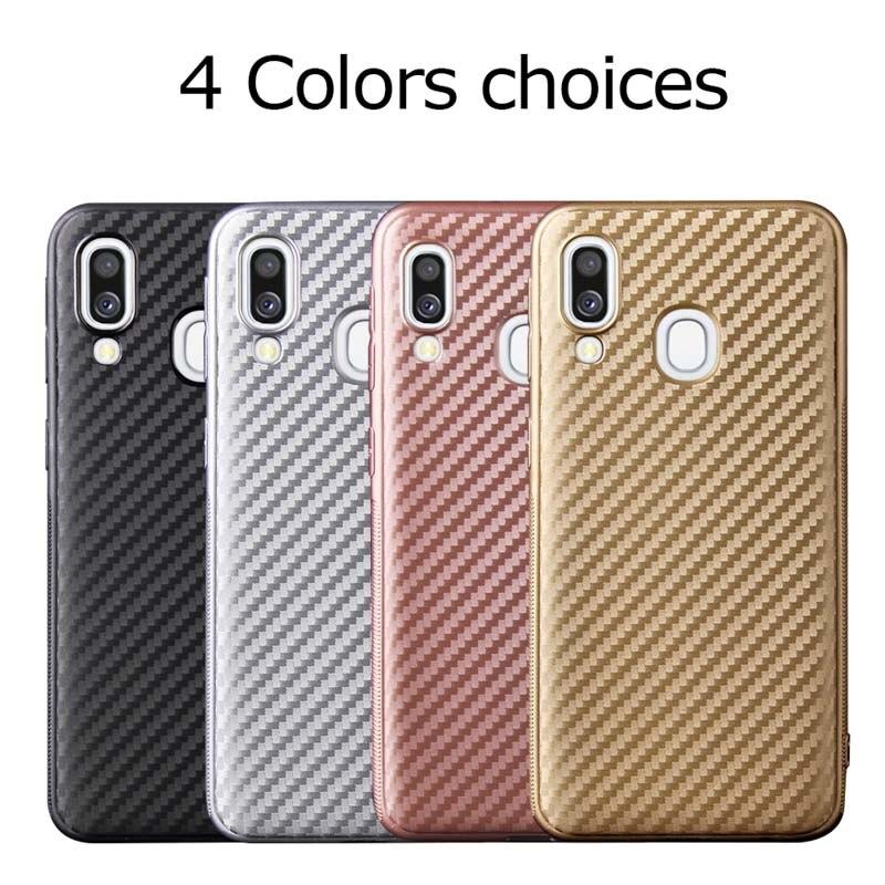 Fibra Caso TPU Para Samsung Galaxy A50 A40 A70 A60 A30 A10 A20e A2 Core J1 2016 A6S G530 C5 pro A5 2017 A9 A8 Plus A7 2018 Casos
