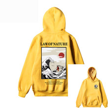 GONTHWID Japanese funny cat dot print men's sports hoodie 2020 autumn and winter hip-hop style street