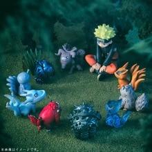 Figurines Naruto 11 pièces/ensemble de jouets en PVC pour bébé Bijuu Kyuubi Kurama, Collection de noël pour enfants
