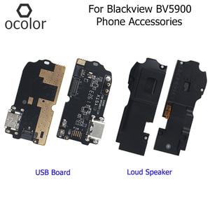 Image 1 - Ocolor ため Blackview BV5900 拡声器 USB ボードアセンブリ修理 Blackview BV5900 USB プラグ充電ボード電話アクセサリー