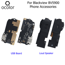 ocolor For Blackview BV5900 Loud Speaker USB Board Assembly Repair For Blackview BV5900 USB Plug Charge Board Phone Accessories