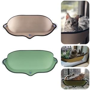 Image 1 - Kedi pencere hamak yatak vantuz yumuşak Kitty asılı yatak Basking raf koltuk Pet kedi dinlenme evi ayı Max 13kg