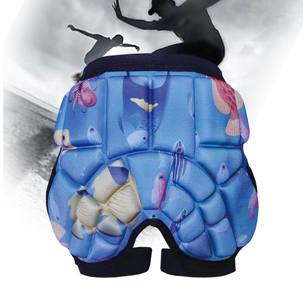 Shockproof Kids Children Roller Skating Ski Snowboard Hip Guard Protection Pad