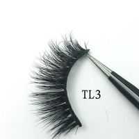 Wholesale 30/50 Pairs 15mm Eyelashes 3D 5D Mink Lashes Handmade Dramatic Full Strip Lashes Mink False Eyelashes Makeup Eyelashes