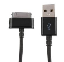 Usb carregador de cabo de dados para samsung galaxy tab 2 10.1 p5100 p7500 tablet qualidade acessórios cabo de carregamento em estoque