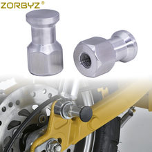 ZORBYZ moto M10 * 1.25mm argent aluminium Suspension bobine pour Honda Z125 singe 125