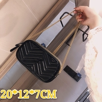 2020 new brand leather Messenger bag shoulder bag coin purse fashion durable gift postage free