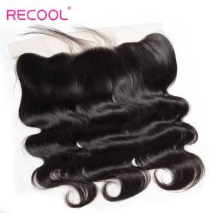 Image 5 - Recool ברזילאי שיער Weave חבילות עם סגירת גוף גל חבילות עם שקוף תחרה פרונטאלית שיער טבעי חבילות עם סגירה