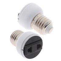 1PC E27 5*3,8 cm ABS UNS EU Generisches Schraube Buchse Lampe Licht Halter Birne Konvertieren Zu Power weibliche Outlet Stecker Stecker Zubehör