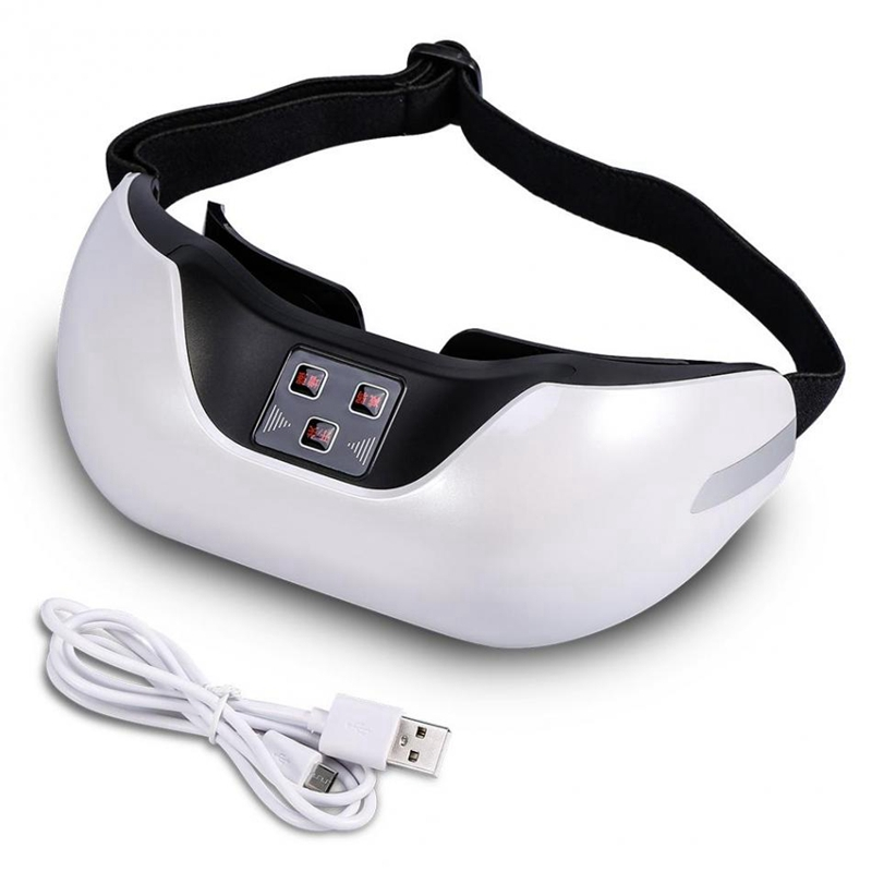 Intelligent 3D Eye Care Instrument Green Light Eye Vision Recovery Training Instrument Increased Vision Pulse Magnetic Therapy M