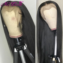 13x6 HD Lace Frontal Wig Bone Straight Lace Front Wig Human Hair Wigs For Women Brazilian Remy Hair Mi Lisa 30 inch Closure Wig