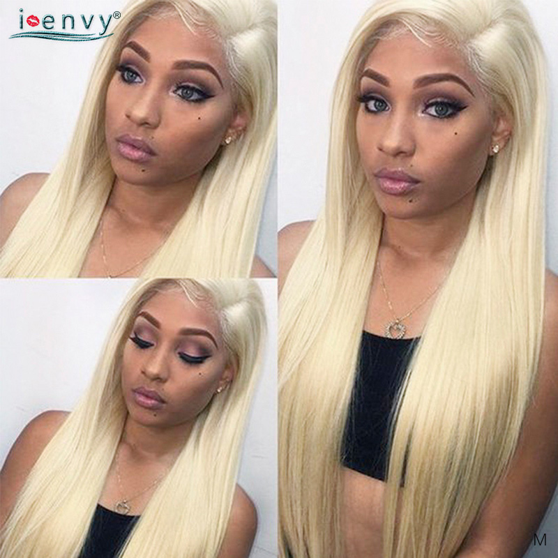 Honey Blonde Lace Front Human Hair Wigs 13X4 613 Lace Front Wig Human Hair Brazilian Pre Plucked Blonde Lace Wigs Remy 180%