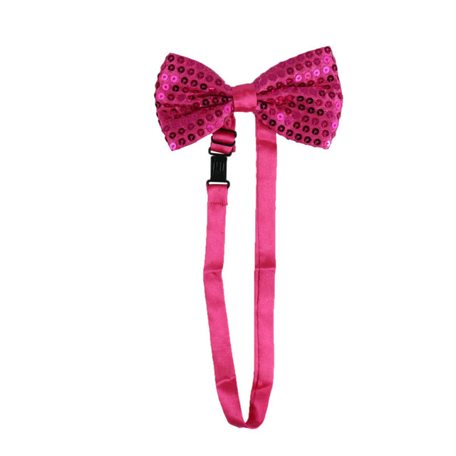 Women Sequins Adjustable Shoulder Straps Suspender with Bow Tie Set Rave Stage Performance Jazz Dance Costume Accessories 6