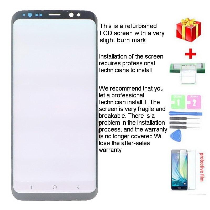 lcd de tela toque digitador assembléia com capa traseira