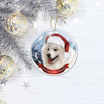 Dog Tree Pendants Merry Christmas  3