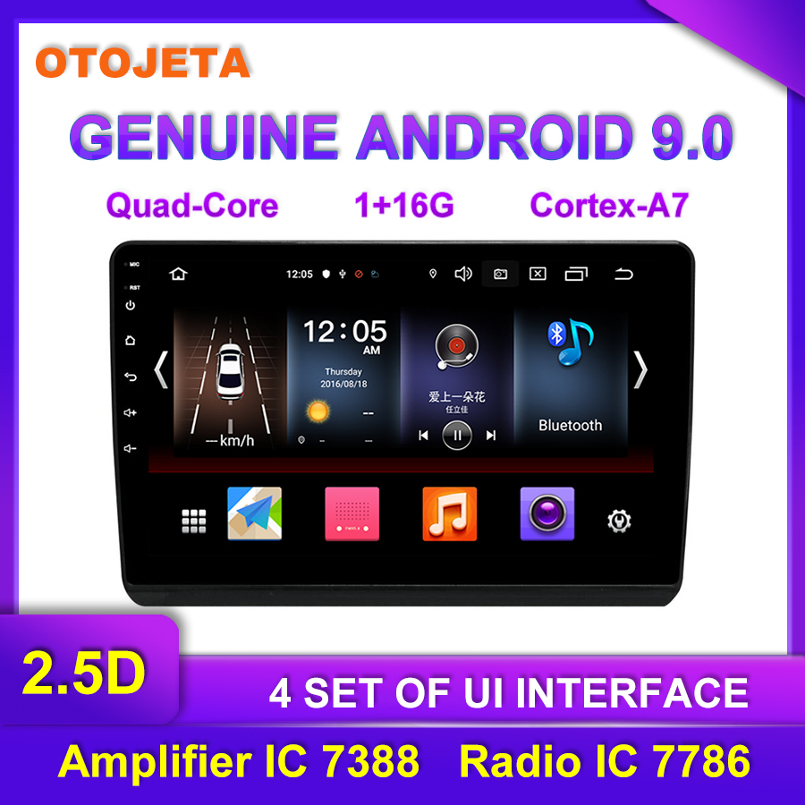 Factory Direct Sale OTOJETA Android 9.0 Car Multimedia Radio For Honda URV 10.25