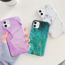 Phone-Cases Marble Cover Silicone Soft Mini for 12 11-Pro/max XS Xr-X-7 8-Plus TPU Imd-Back